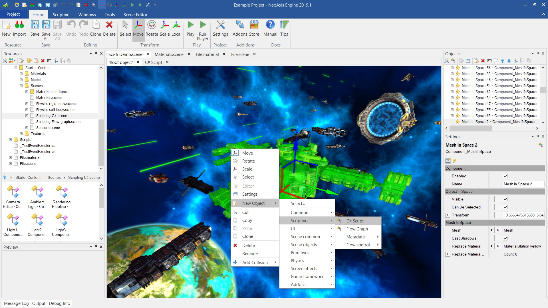 NeoAxis Engine 2019 1 Released | NeoAxis Engine