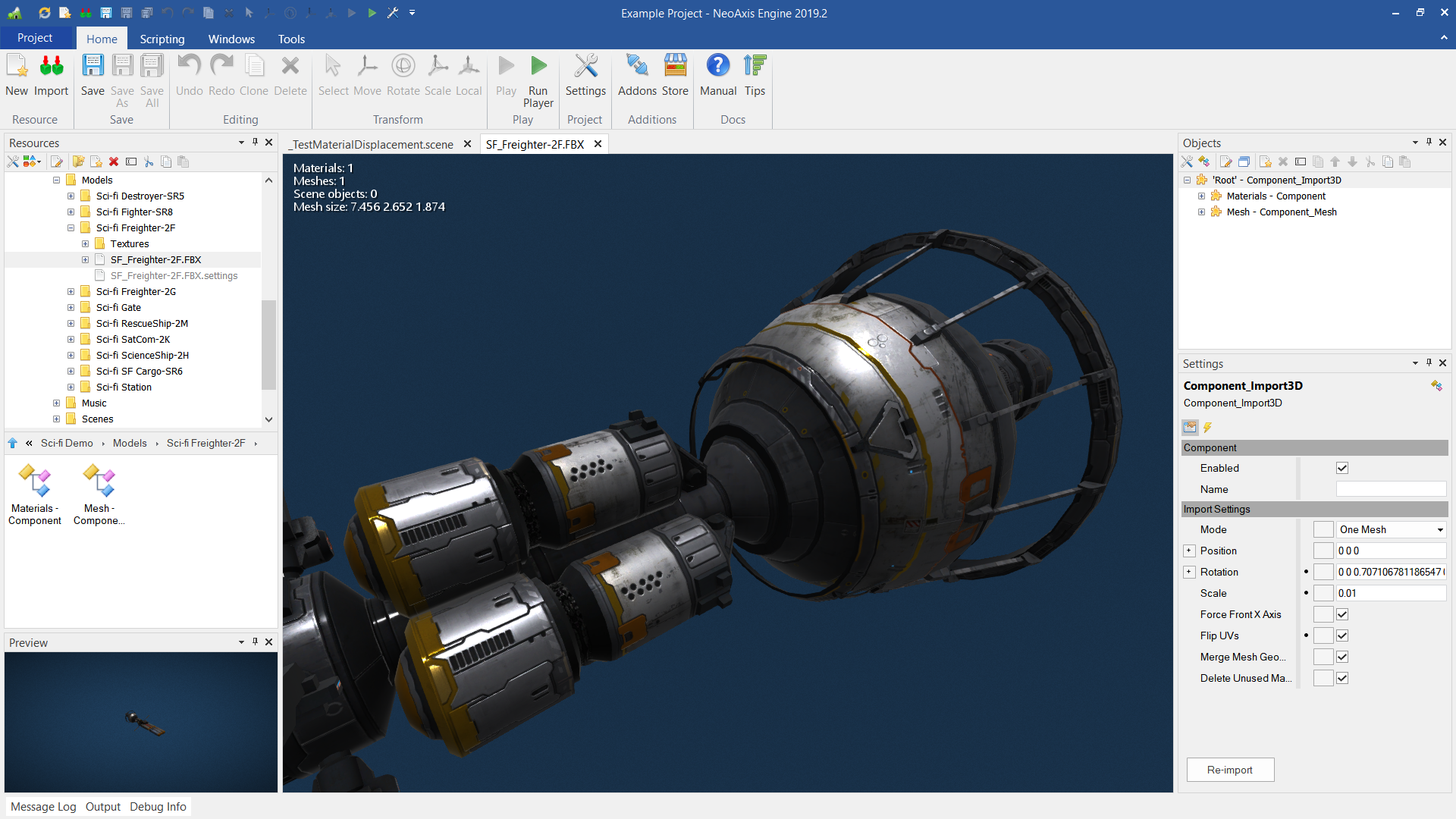 NeoAxis Engine 2019 2 3 Released | NeoAxis Engine