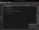 Built-in C# editor.