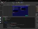 GUI editor.