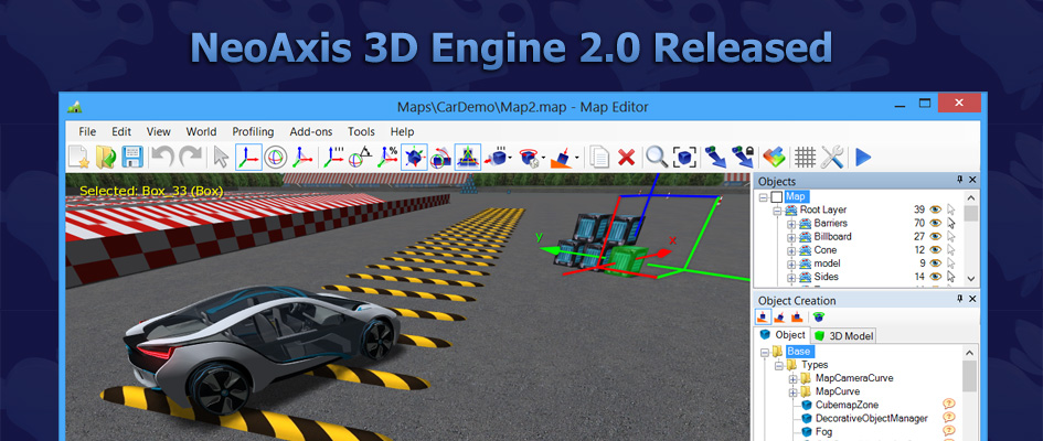 NeoAxis 3D Engine 2.0 Released