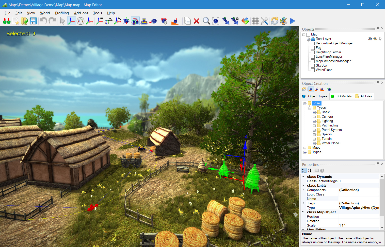 overview of neoaxis 3d engine